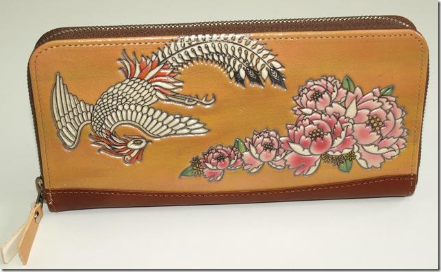 鳳凰ファスナー財布